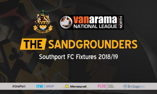SPONSOR | 2018/19 Fixtures Poster