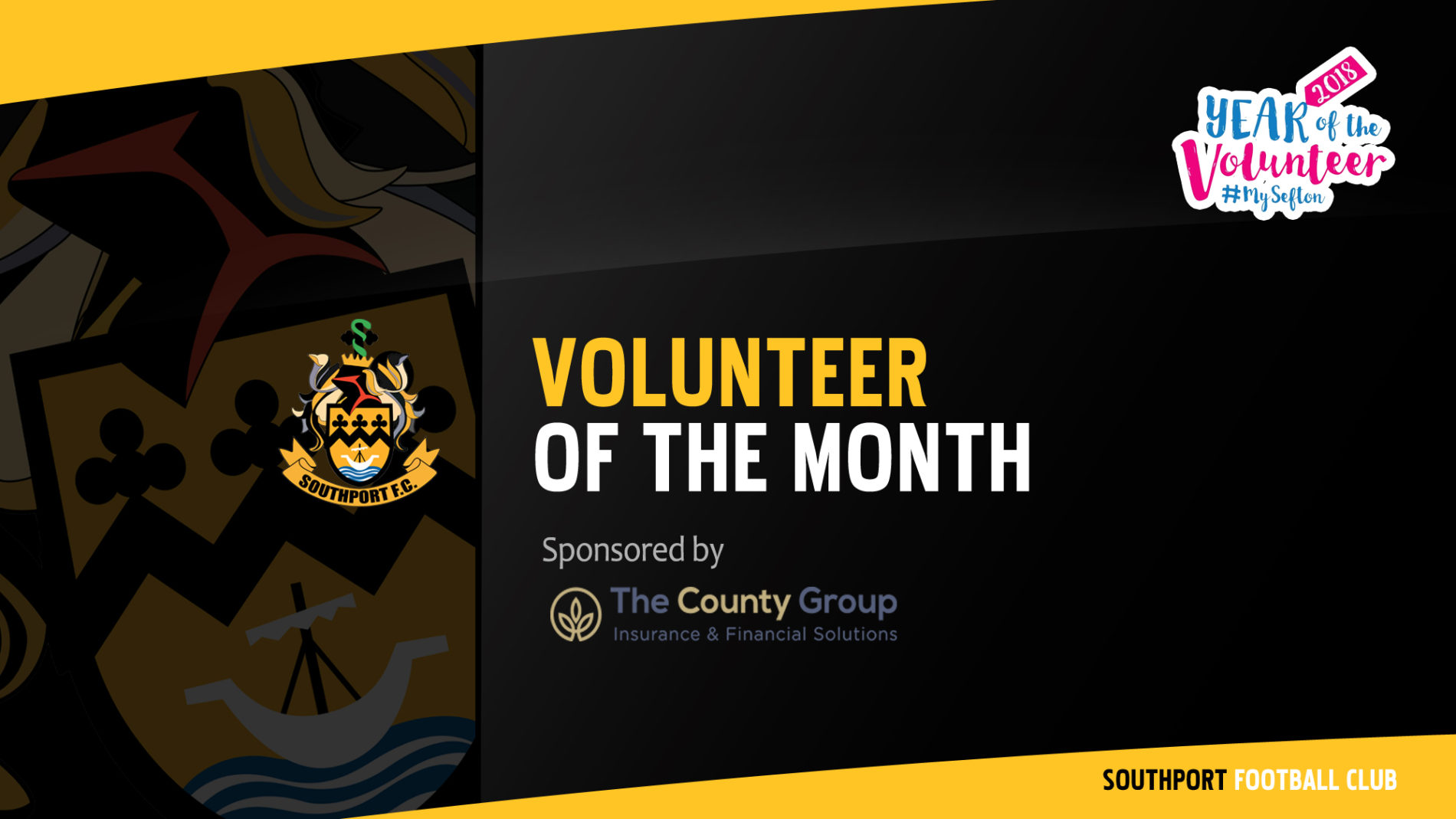 WELL DONE | Volunteer of the Month