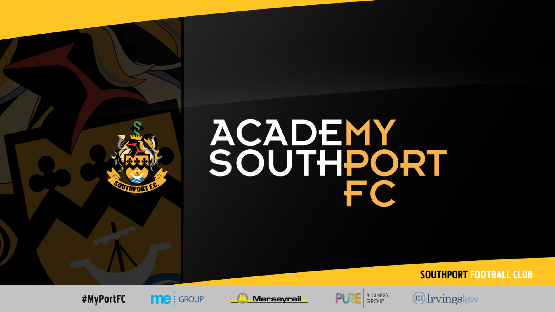 STATEMENT | Changes to Southport FC Academy