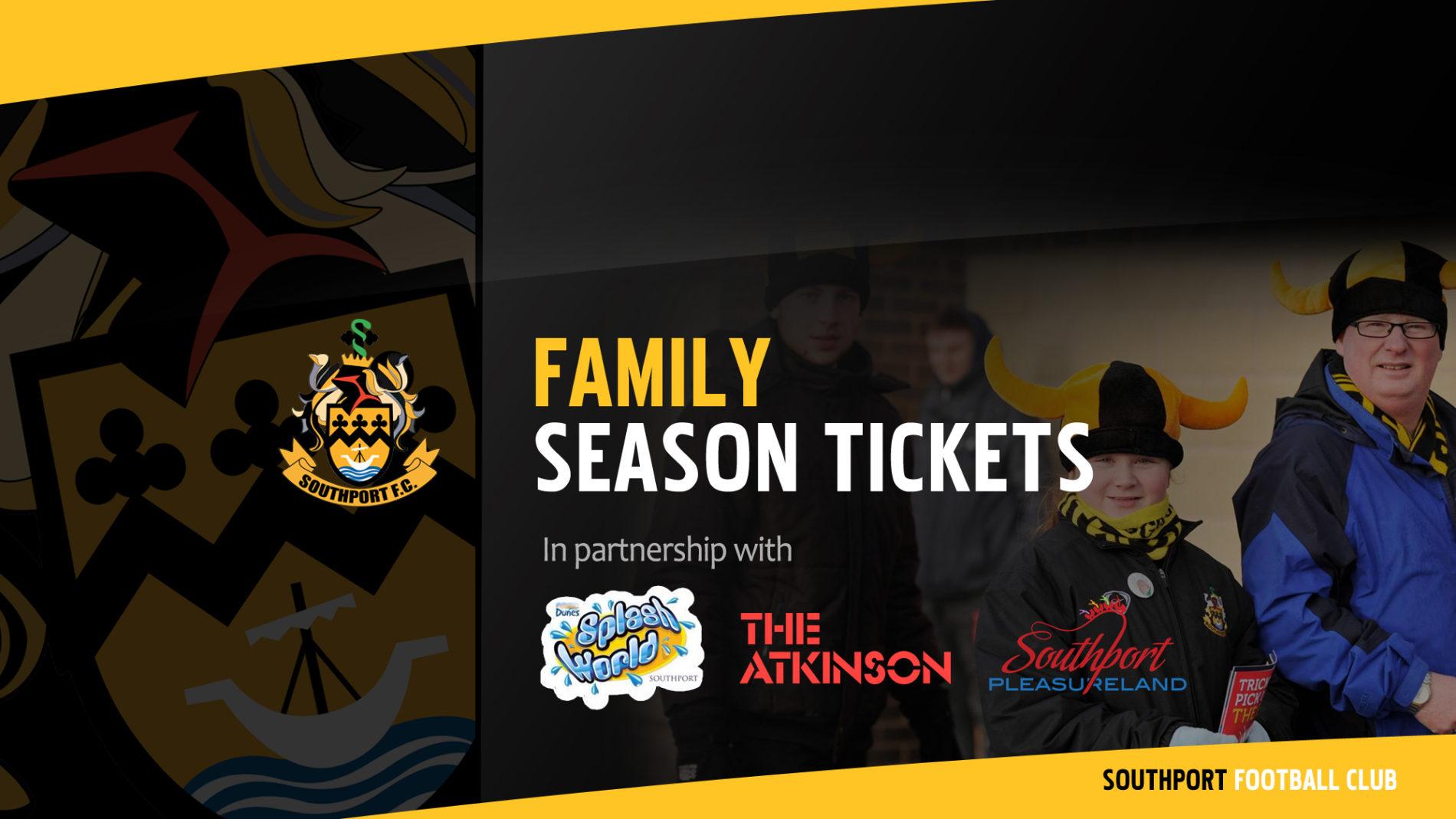 UPDATE | Family Season Ticket