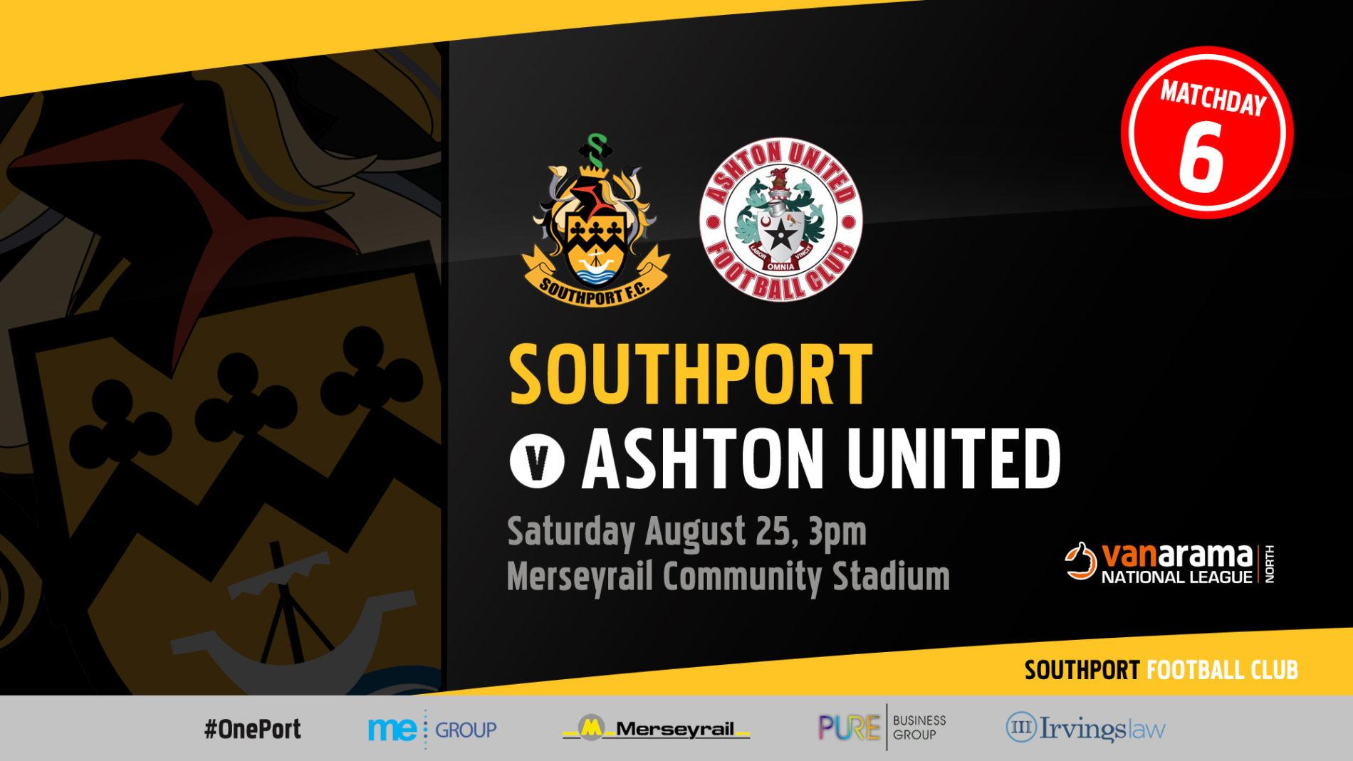 INFO | Southport v Ashton United