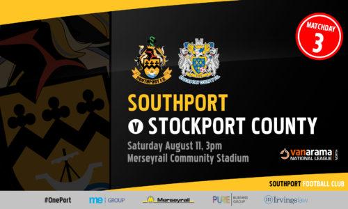 INFO | Southport v Stockport