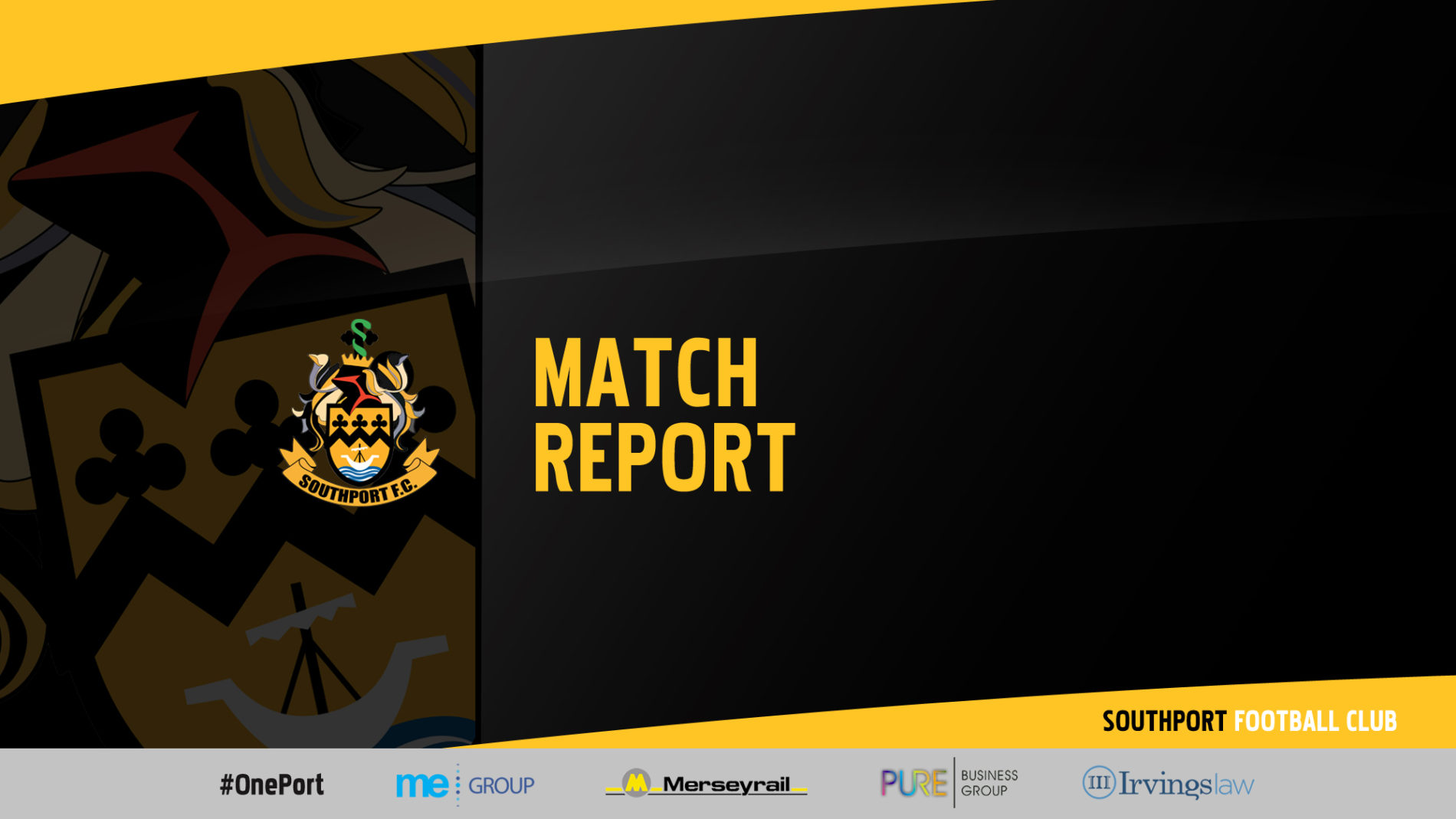 MATCH REPORT | Southport 2-3 Boston United
