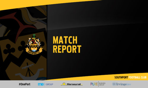 MATCH REPORT | Marine 2-2 Southport AET, Marine Win On Pens – FA Youth Cup