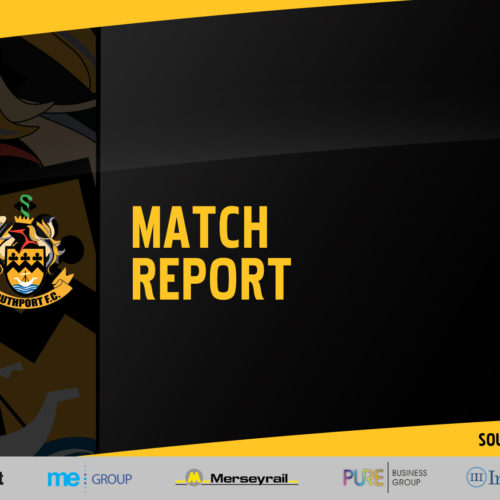MATCH REPORT | Southport 2-2 Ashton United