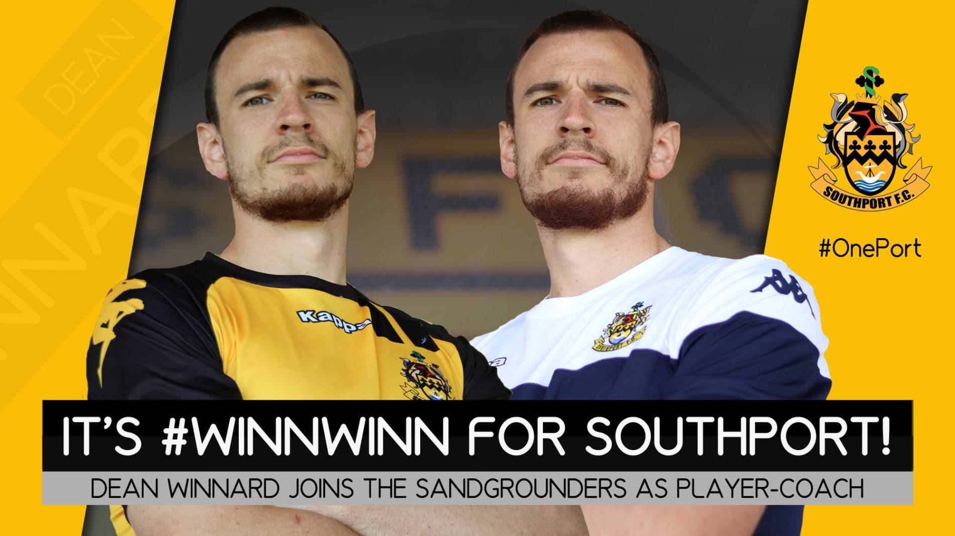 SIGNING | New Player-Coach, Dean Winnard