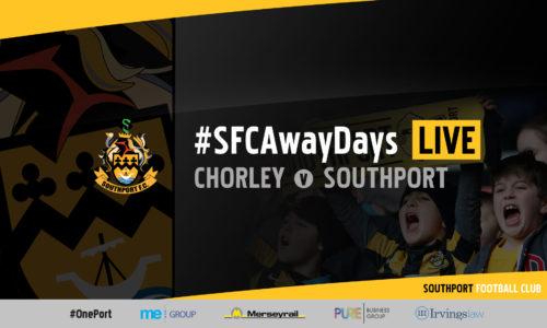 #SFCAwayDays LIVE | Chorley v Southport