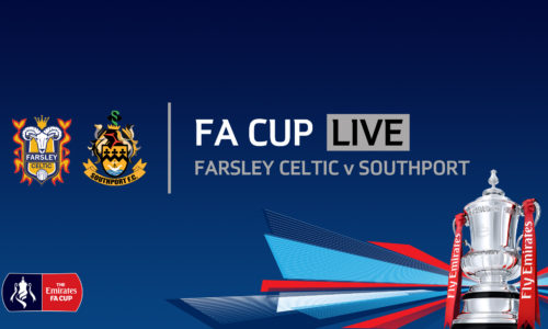 FA CUP LIVE | Farsley Celtic v Southport