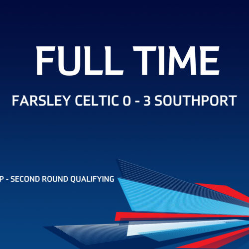 MATCH REPORT | Farsley Celtic 0-3 Southport – FA Cup