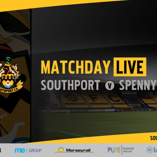 MATCHDAY LIVE | Southport v Spennymoor Town