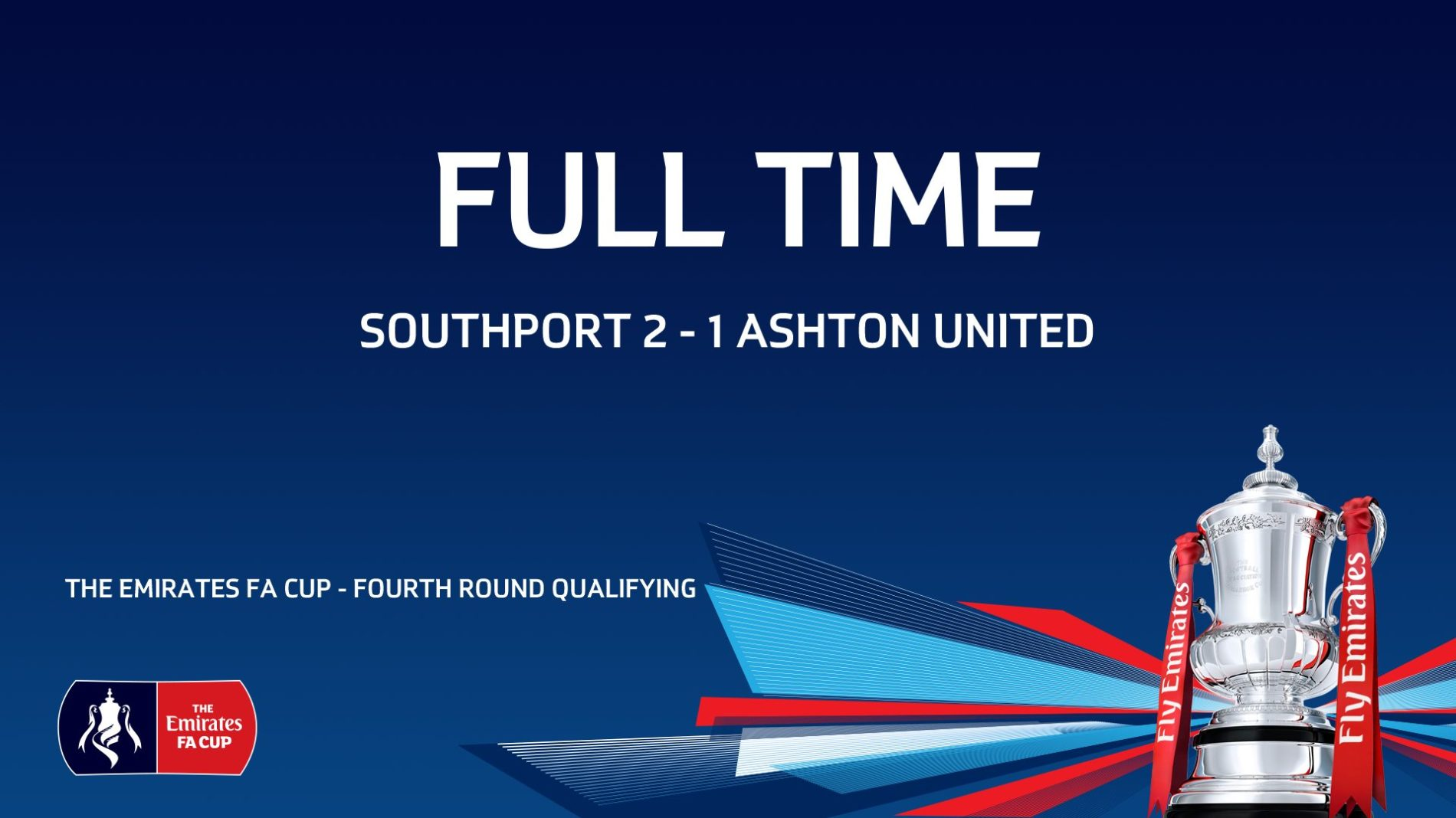 MATCH REPORT | Southport 2-1 Ashton United – FA Cup