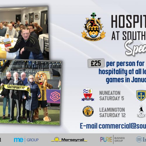 OFFER | Match-day Corporate Hospitality