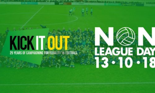 CELEBRATE | Non-League Day with Kick It Out