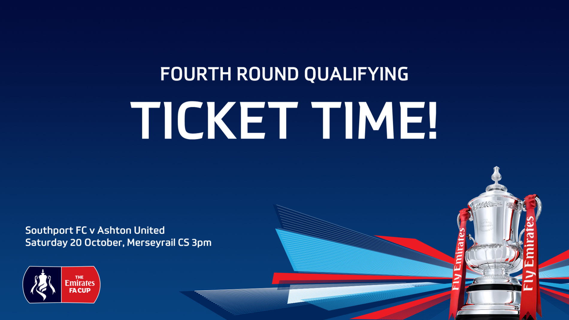 REMINDER | Emirates FA Cup Tickets