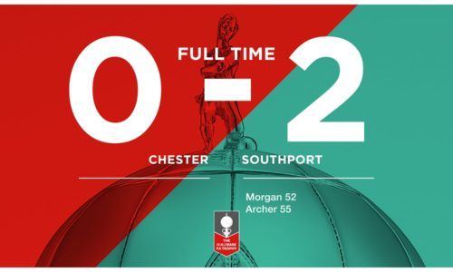MATCH REPORT | Chester 0-2 Southport – FA Trophy