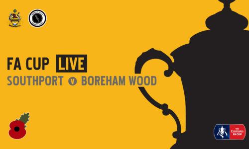 FA CUP LIVE | Southport v Boreham Wood