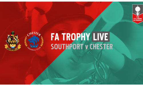 FA TROPHY LIVE | Southport v Chester