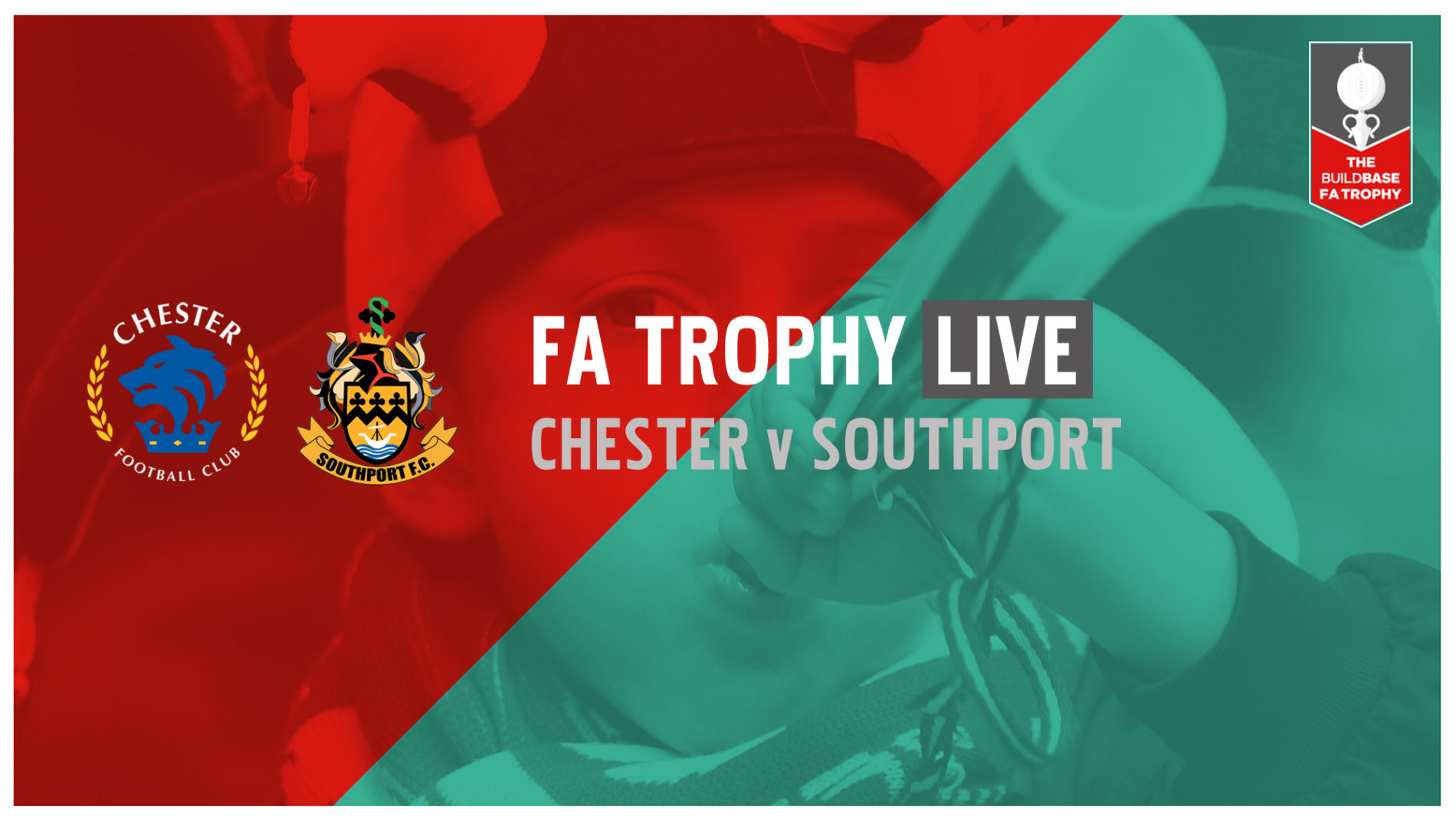 FA TROPHY LIVE | Chester v Southport
