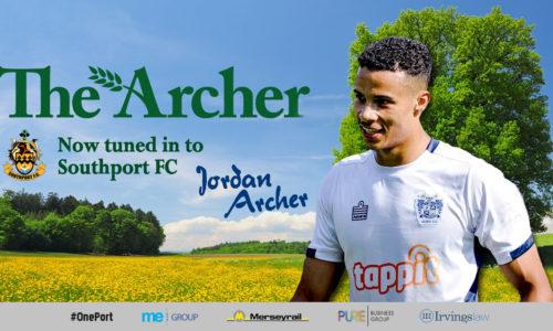 SIGNING | Jordan Archer