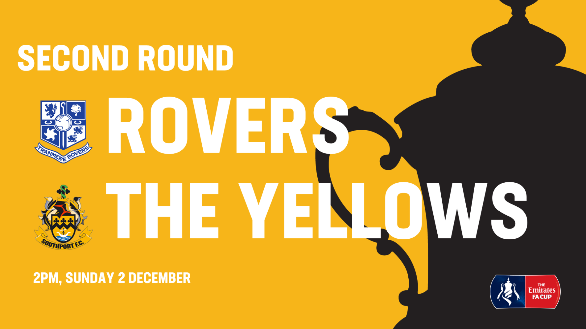 FA CUP DRAW | Second Round Away Day