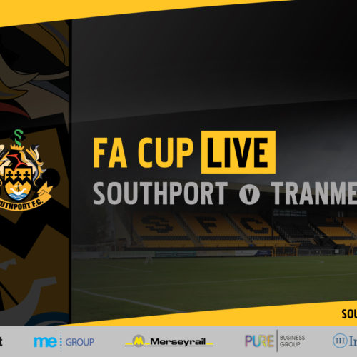FA CUP LIVE | Southport v Tranmere Rovers