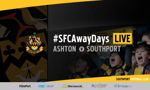 #SFCAwayDays LIVE | Ashton United v Southport