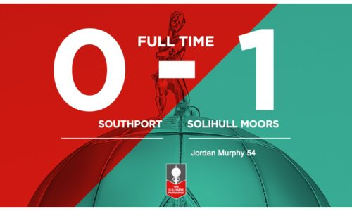 MATCH REPORT | Southport 0-1 Solihull Moors – FA Trophy