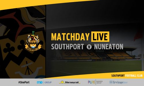 MATCHDAY LIVE | Southport v Nuneaton Borough