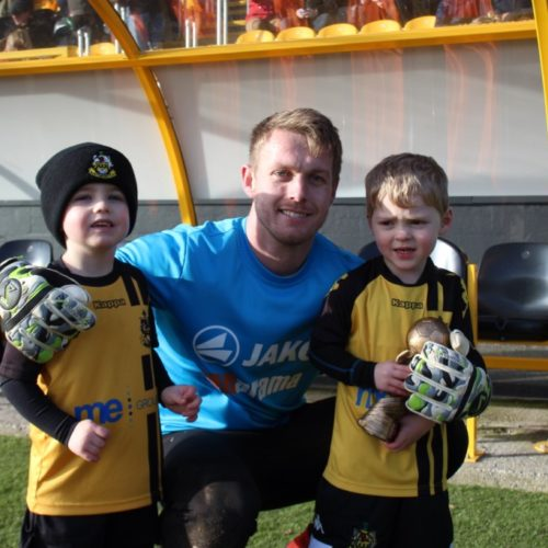 PLAYER OF THE MONTH   Dan Hanford