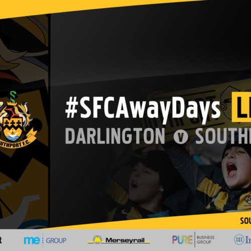 #SFCAwayDays LIVE | Darlington v Southport