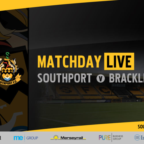 MATCHDAY LIVE | Southport vs Brackley Town