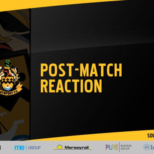 REACTION | Watson After Boston United