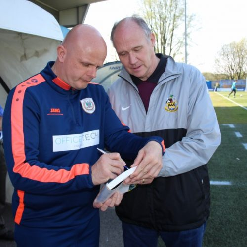BOOK SIGNING | Mark Bradshaw