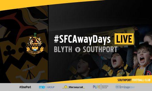 #SFCAwayDays LIVE | Blyth Spartans vs Southport
