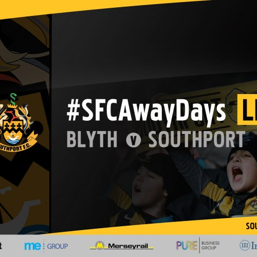 #SFCAwayDays LIVE | Blyth Spartans vs Southport