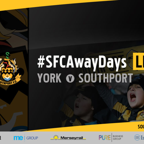#SFCAwayDays LIVE | York City vs Southport