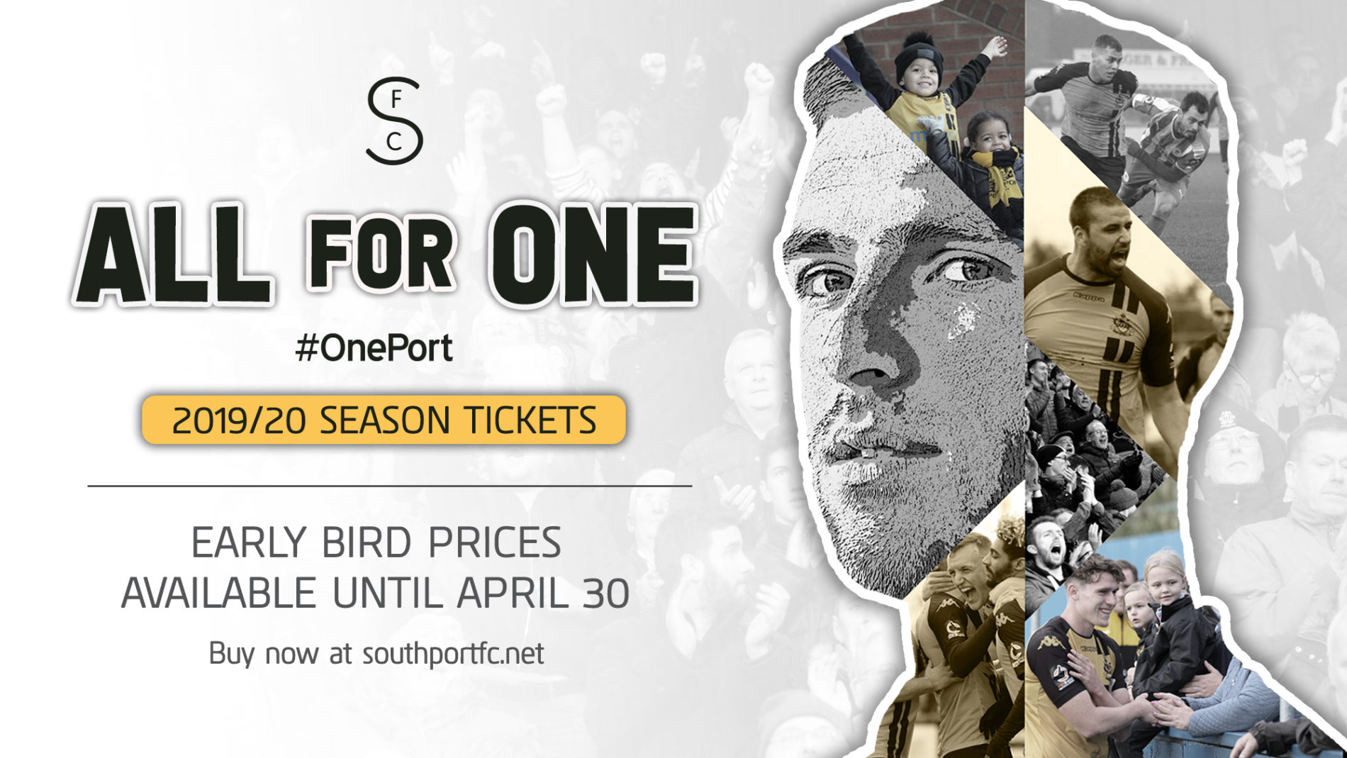 ALL FOR ONE | 2019/20 Season Tickets
