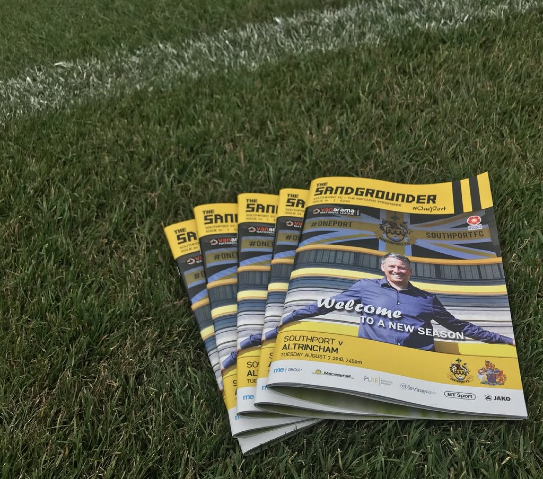 UPDATE | Matchday Programme