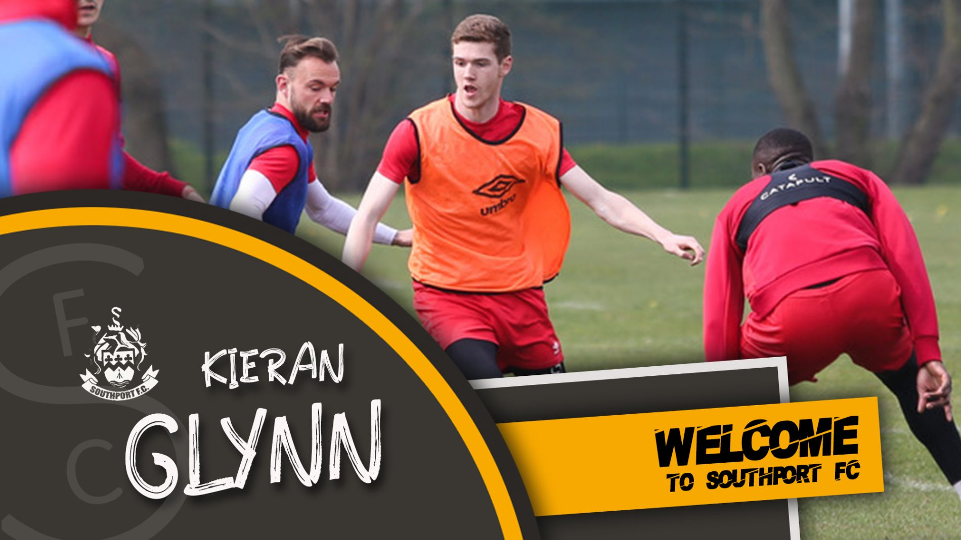 SIGNING | Glynn Joins The Port!