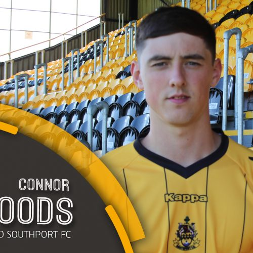 SIGNING   Connor Woods