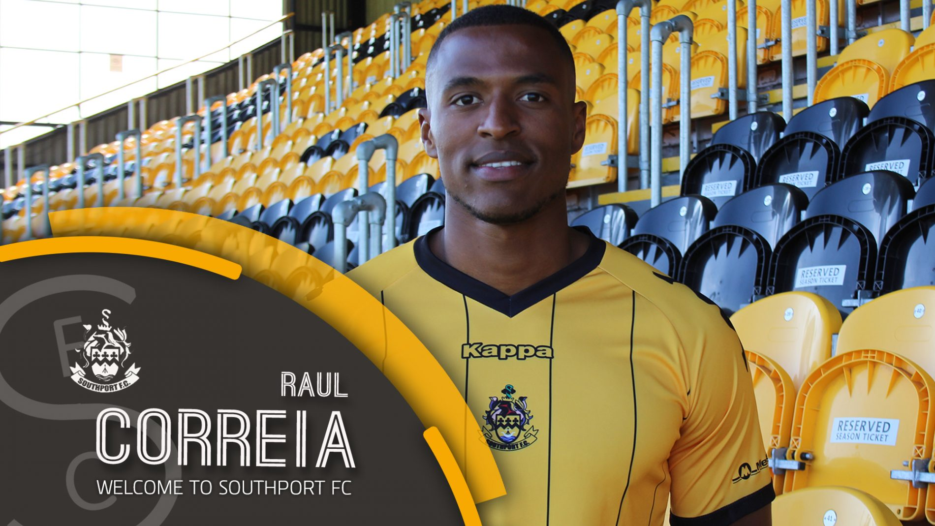 SIGNING | Correia Joins The Port!