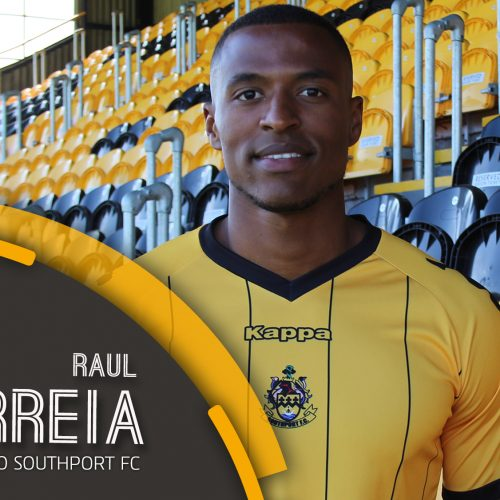 SIGNING   Correia Joins The Port!