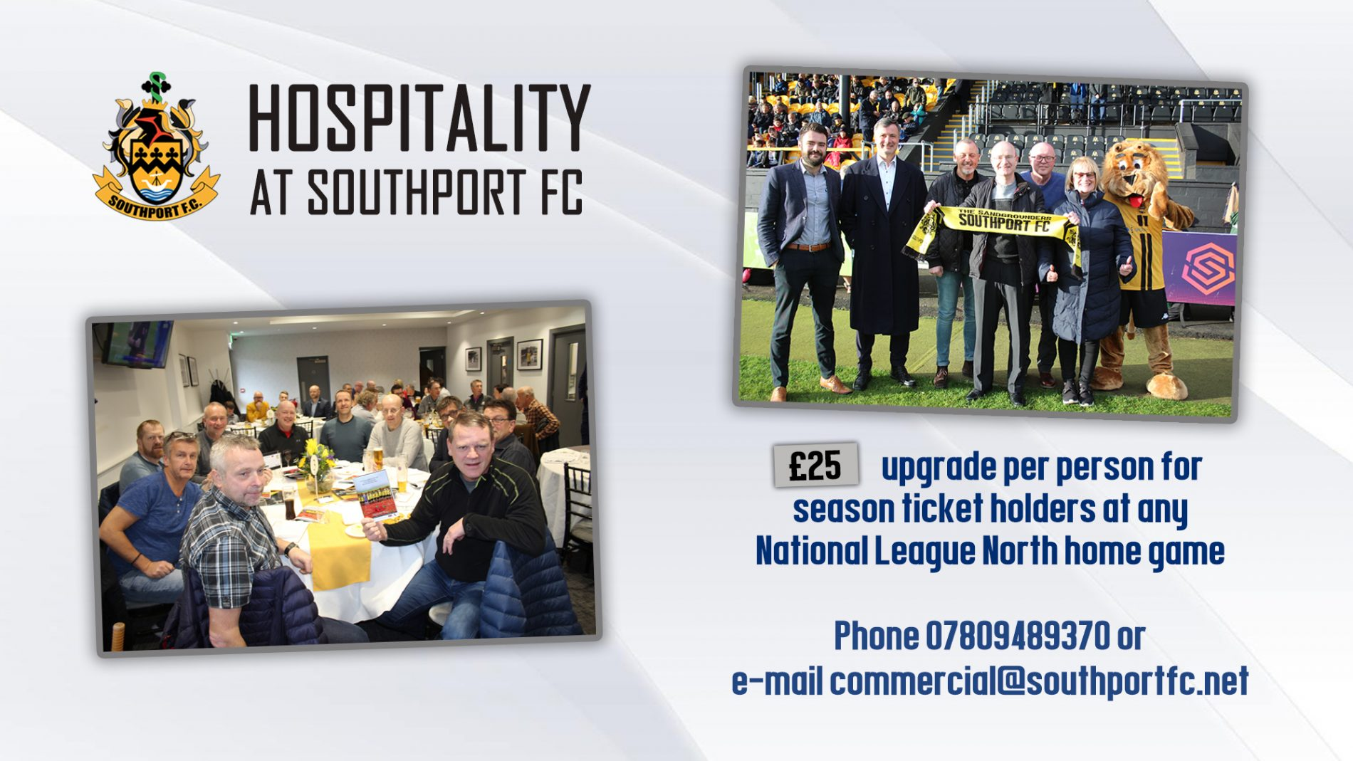 OFFER | Season Ticket Hospitality