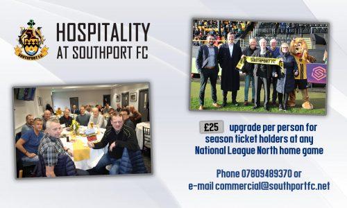 OFFER | Season Ticket Hospitality