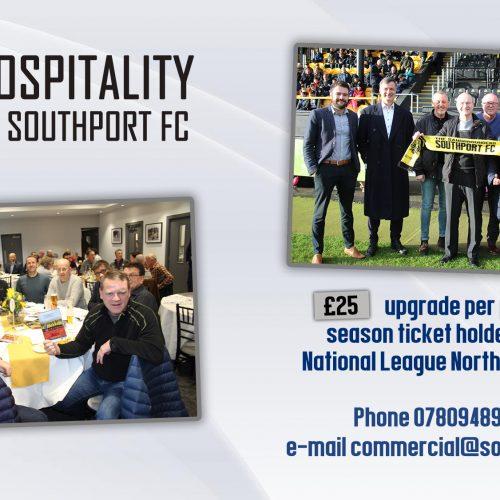 OFFER   Season Ticket Hospitality