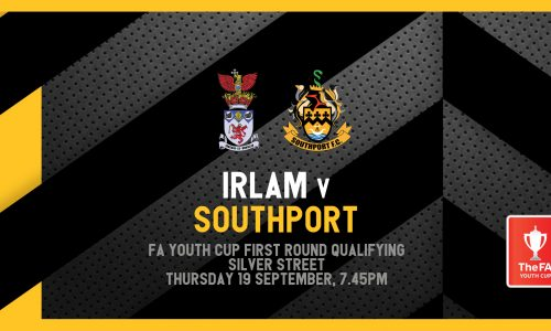 FIXTURE | FA Youth Cup vs Irlam