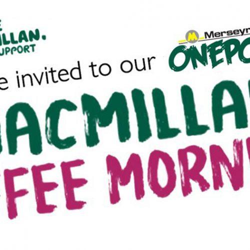 TODAY | Macmillan Coffee Morning