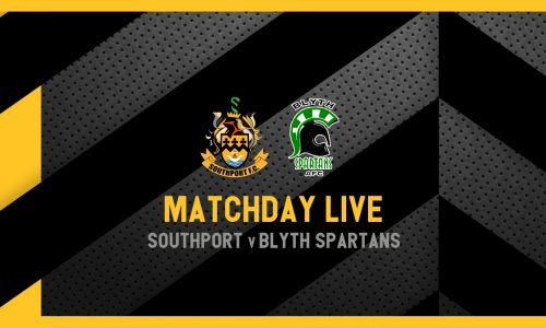 MATCHDAY LIVE | Southport v Blyth Spartans