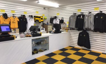 CLUB SHOP   Open Today