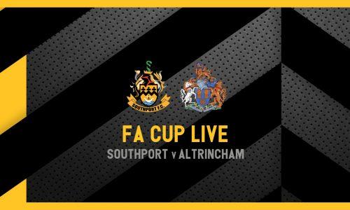 MATCHDAY LIVE | Southport v Altrincham